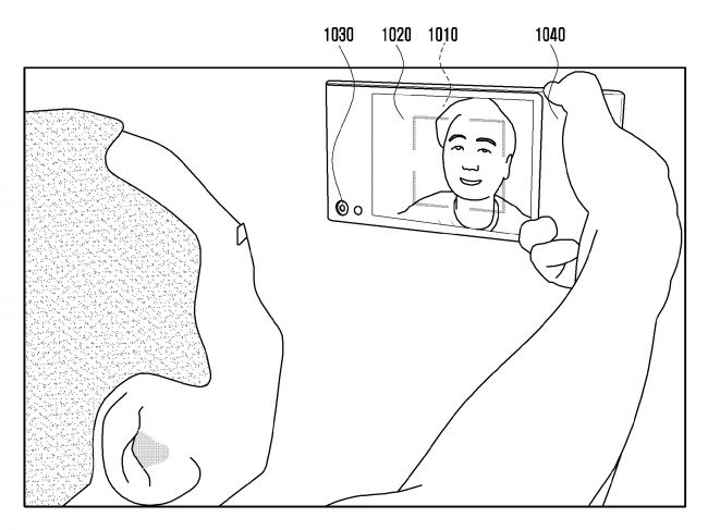 Photo from Samsung Patent Application